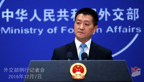 中方谈郭声琨访美:推动中美关系平稳过渡和发展
