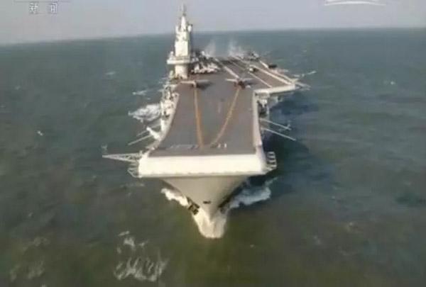 中国航母编队跨海演训:歼-15实现多个练习科目