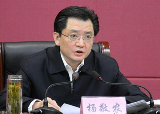 安徽省政府秘书长杨敬农被查 曾任芜湖市长