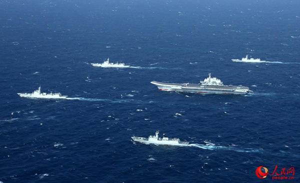 专家:中国航母编队雏形展现 航母发展再上大台阶