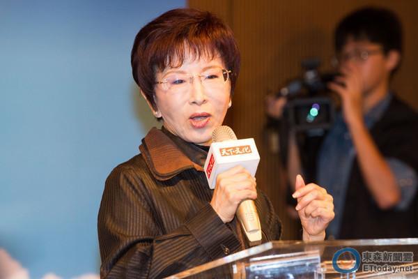 国民党主席选举将五强鼎立 洪秀柱:有竞争