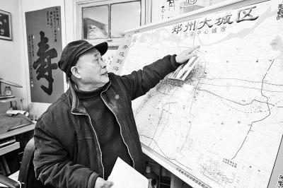 八旬老顽童造网络地图 扫二维码可查地铁等信息