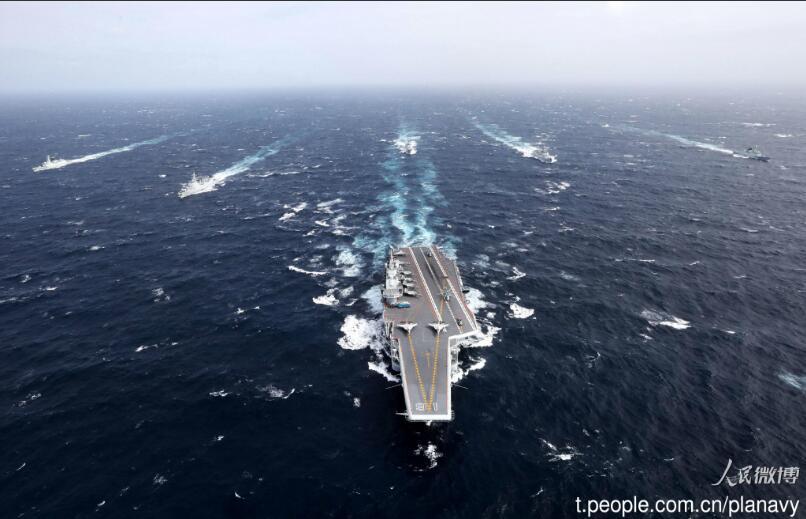 专家:辽宁舰编队训练水平上大台阶 可上阵迎战