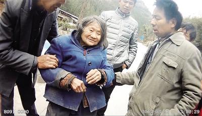重庆九旬老太迷失山林 靠6个鸭蛋撑过4天(图)