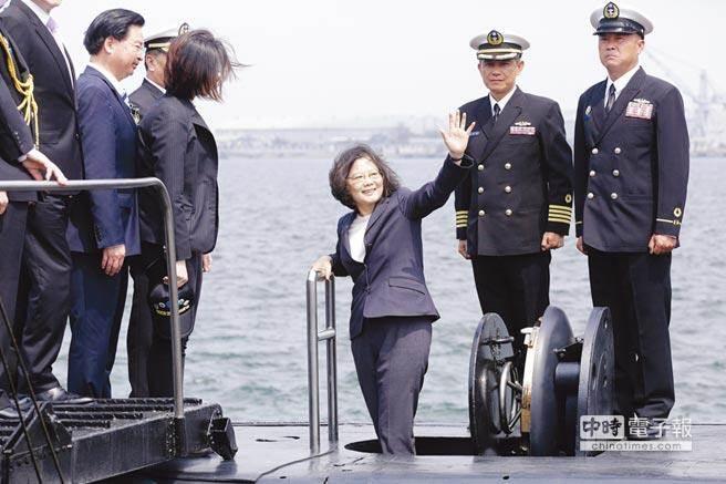 台防务部门报告对潜舰自造交白卷 计划被指窒碍难行