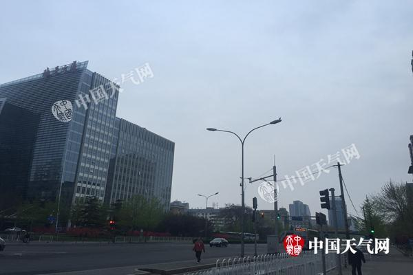 今晨北京有雾能见度低 未来三天陷入灰蒙蒙