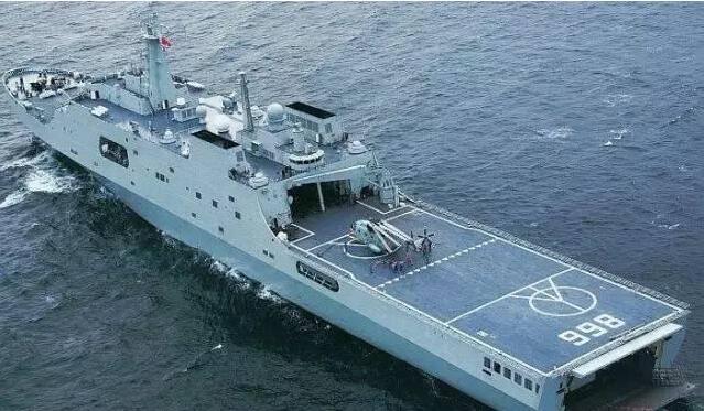 俄媒关注中国开建075型两栖攻击舰