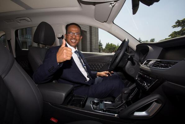 """""""一带一路""""论坛 德国宝沃为国际元首提供用车服务"""