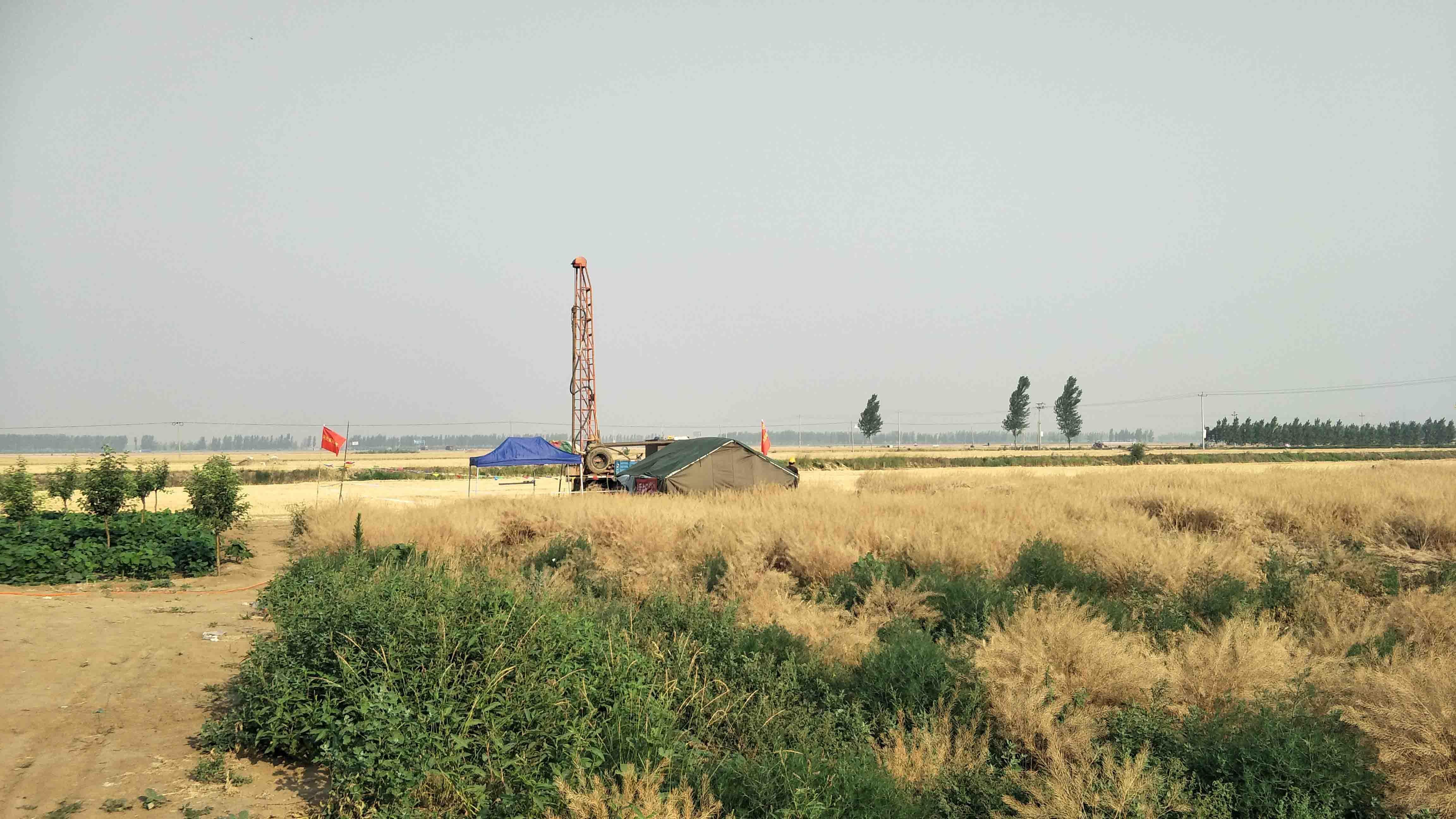 河北雄安新区地质调查工作启动 7月底完成一期调查