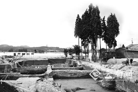 昆明晋宁发现9口汉代水井这里可能是古滇国城市