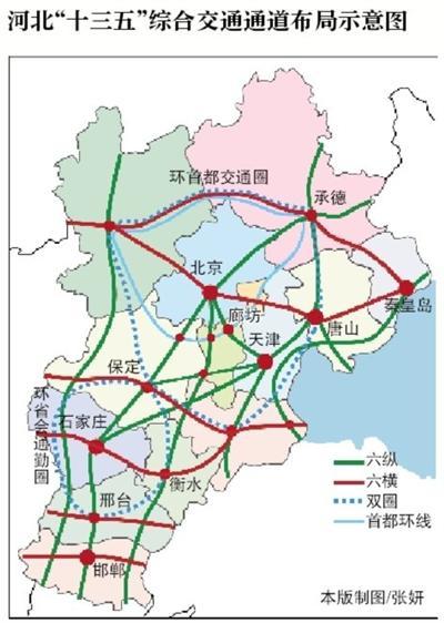 """未来5年多条高铁将""""过""""雄安新区周边路网将大改善"""