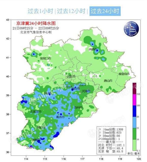 说好的北京暴雨呢?在路上