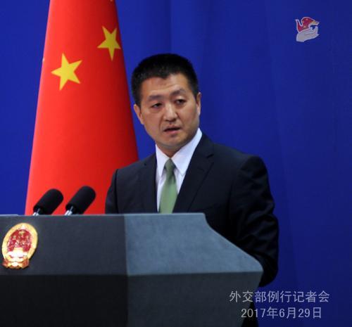 外交部公布印度邊防人員非法越界進入中國領土照片