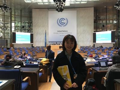 中英德文自荐信 大三学生靠它征服联合国气候变