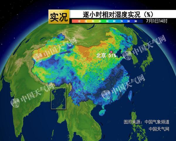 京津冀等提前体验三伏天 4日起气温略降