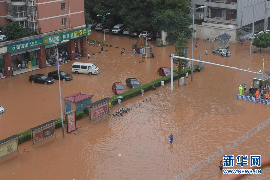 (环境)(3)暴雨袭长沙