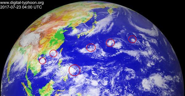 台风组团携暴雨接连来袭 江浙沪降温仍然没戏
