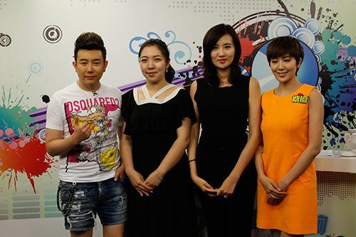 左起:张羽、张诗淇、王艳婷、紫檀