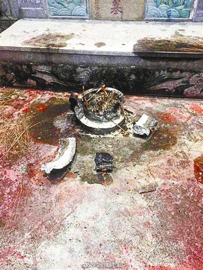 南宋名相陆秀夫陵园被砸 当地警方已介入调查