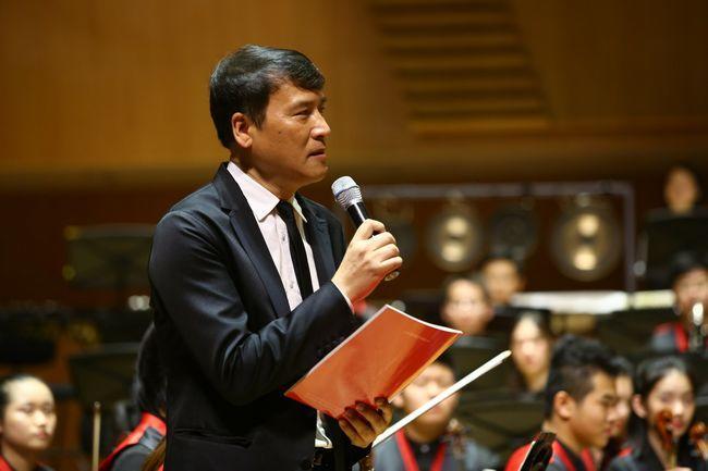 中国音乐家协会主席叶小钢亲临现场