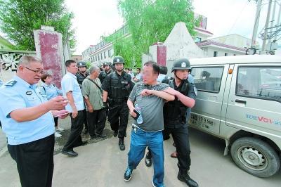 北京一处司法网拍厂房被占 法院强制腾退(图)