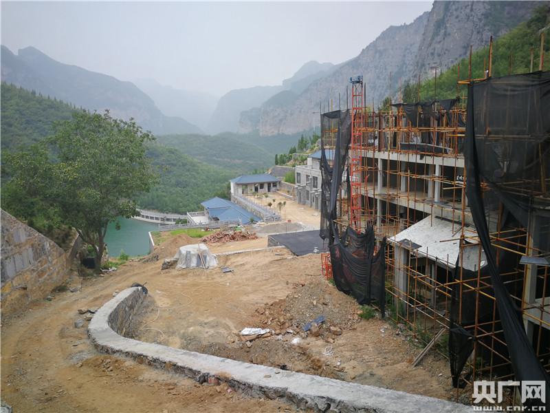 河南一景区违建拆不动国土局曾开超低罚单:每平3元