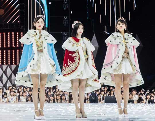 SNH48偶像女团人气总决选结束 鞠婧祎连获两届冠军