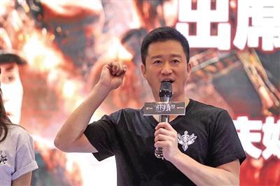 吴京谈《战狼2》:我们太需要自己的超级英雄