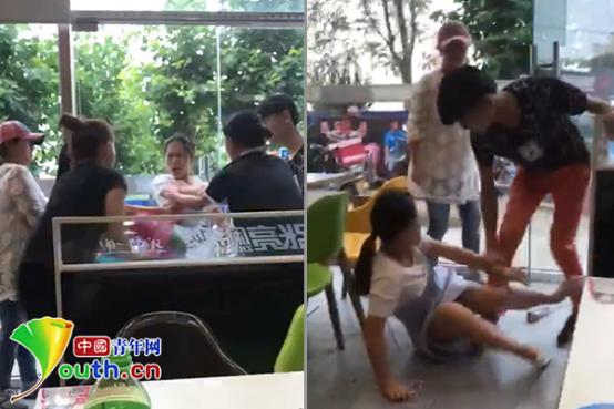 北京张亮麻辣烫店员工因两毛钱动手殴打女顾客