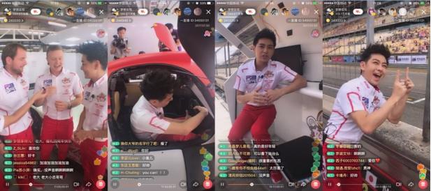 林志颖分享车队赛事 穿赛车服迎接夺冠赛车