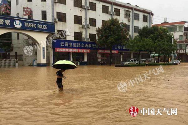 强降雨重心移向华北东北 【河北辽宁】有大暴雨