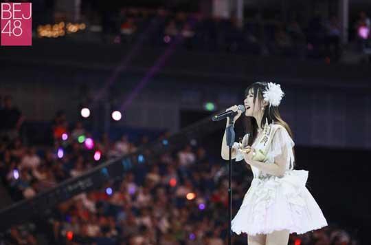 BEJ48成SNH48总选赢家 段艺璇:像梦一场