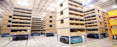 探秘智慧物流仓库:最强拣货员是个机器人(图)