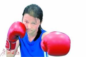 14岁女拳击手夺金方才:怕妈妈看到我受伤会哭