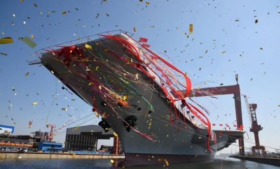 中国首艘国产航母开始动力系统测试将进入系泊试验