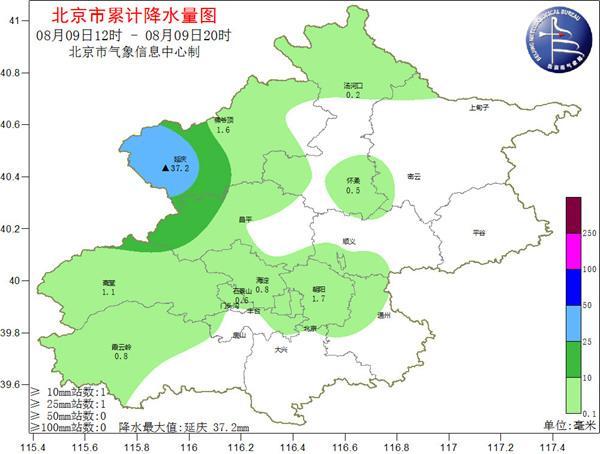 北京近期多雷阵雨 周末气温降至30℃以下体感凉爽
