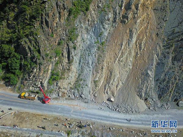 九寨沟震区今天有小到中雨 需防范地质灾害