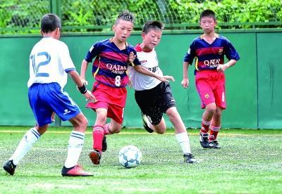 武汉青少年足球赛渐国际化 优秀小球员能赴西班牙