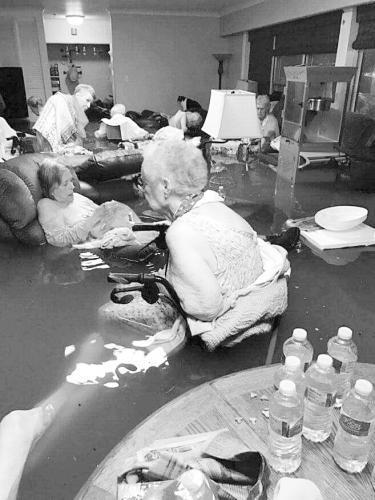 迪金森市一家疗养院多名老人