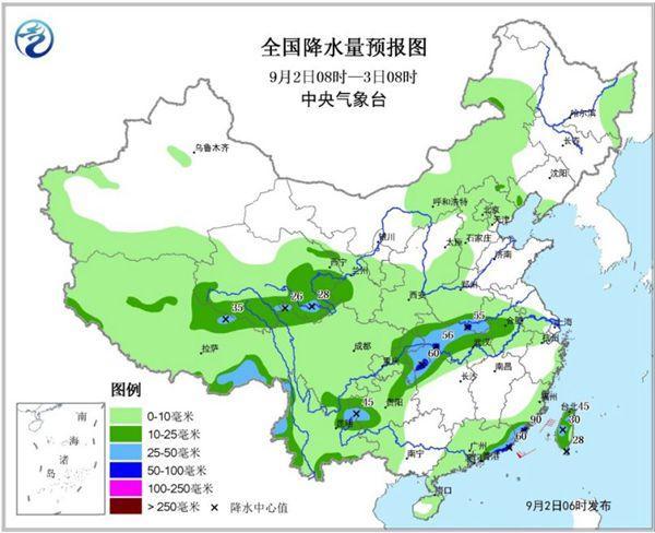 重庆湖北等地有暴雨 北方气温波动回升