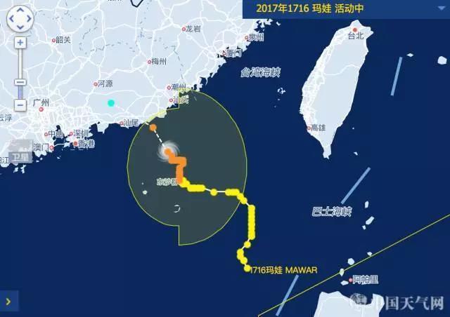 """台风""""玛娃""""来袭:速度慢、时间长、影响范围广"""