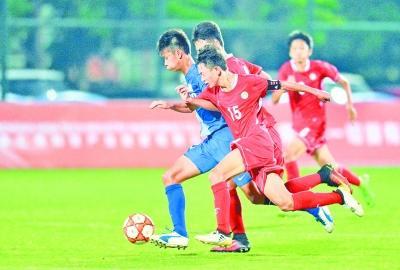 国际少年足球邀请赛 武汉队战胜伊朗队(图)