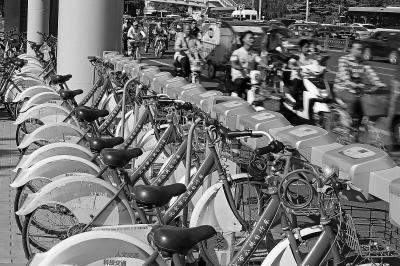 北京8.6万辆公租自行车往何处去?
