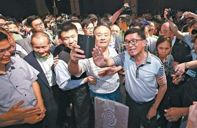 民进党党内特赦陈水扁声浪高 蔡当局设防火墙