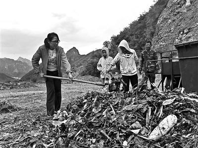 海归女硕士进村做垃圾分类试验教村民垃圾分类