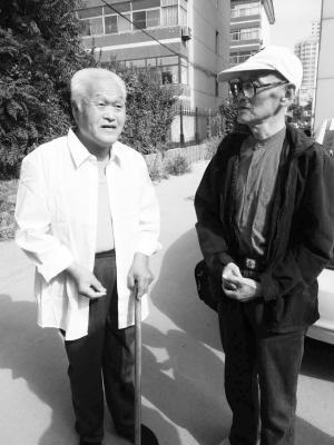75岁老人发微信找失散70年弟弟 民警帮团聚(图)