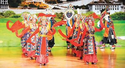 西藏文化走进台湾校园(图)