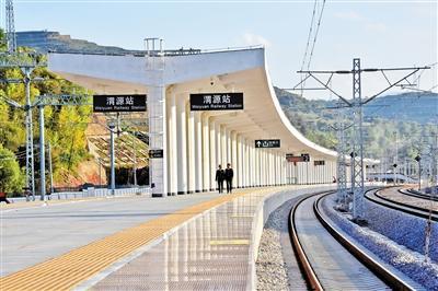 兰渝铁路今起开通 途径三省一市22座城市(图)