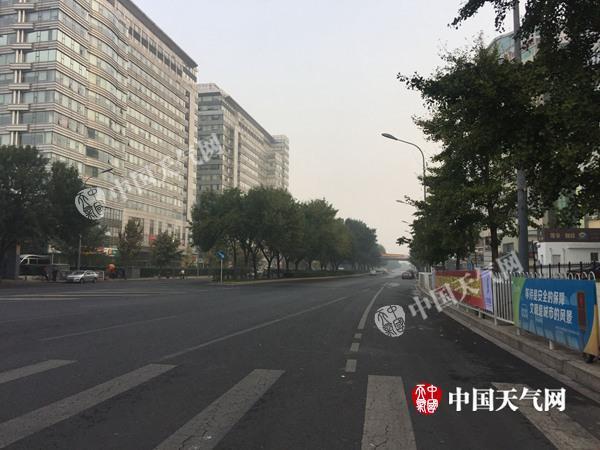 国庆假期首日北京晴朗利出行 明天降雨降温