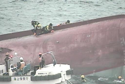 中国失事渔船搜救工作全面展开 已发现五具遗体